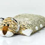 Natural Latex Pillow Tiger Brown